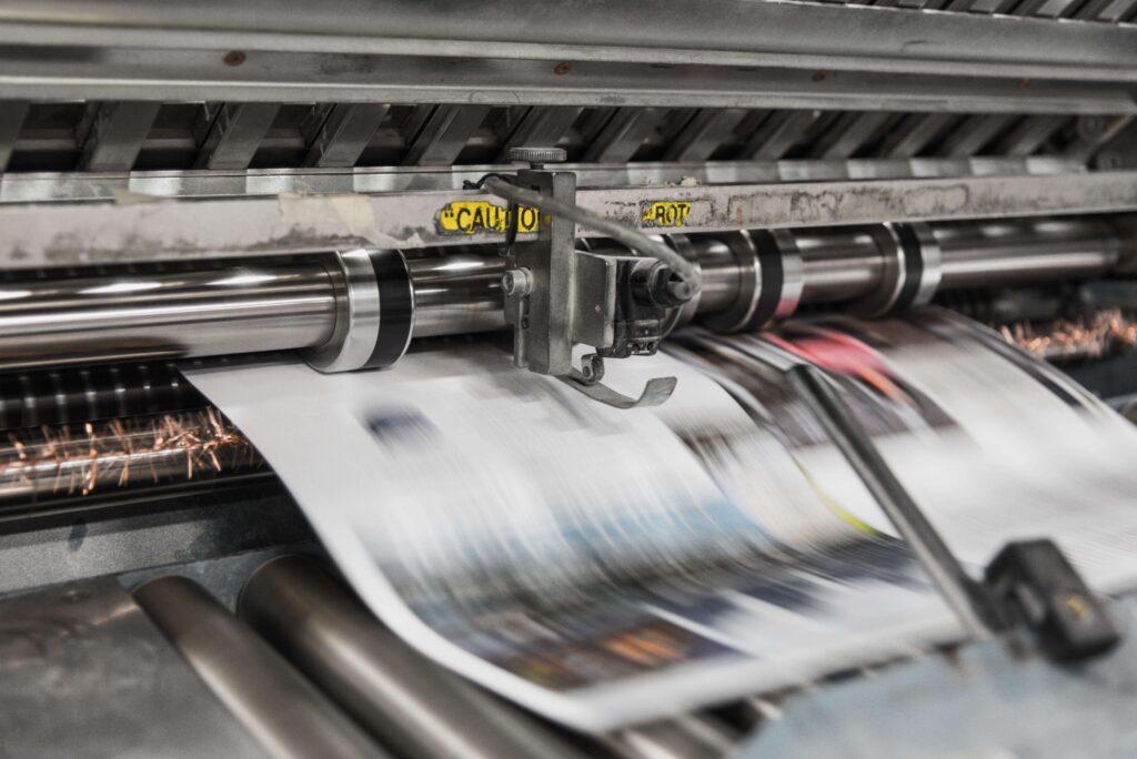 Impresión digital e impresión offset.